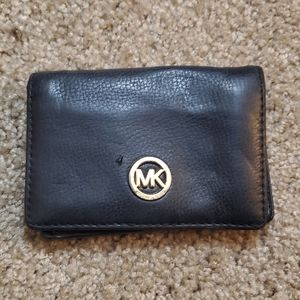 Michael Kors Leather Bifold Wallet